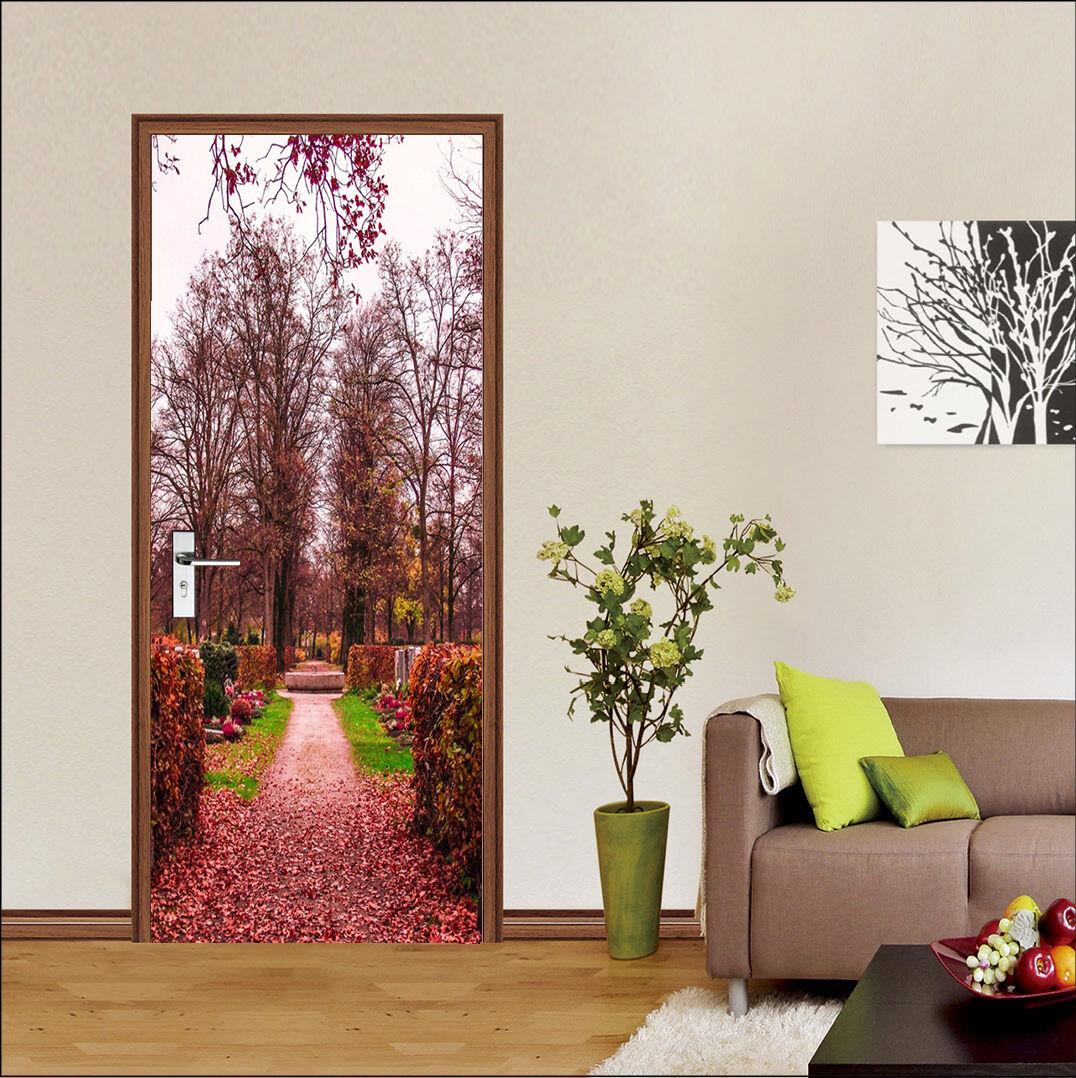 3D Laubbäume 85 Tür Wandmalerei Wandaufkleber Aufkleber AJ WALLPAPER DE Kyra | Trendy  | Verschiedene  | Ermäßigung