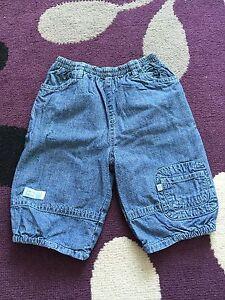 Unisex-Mothercare-3-6-Months-Blue-Jeans-denim-baby