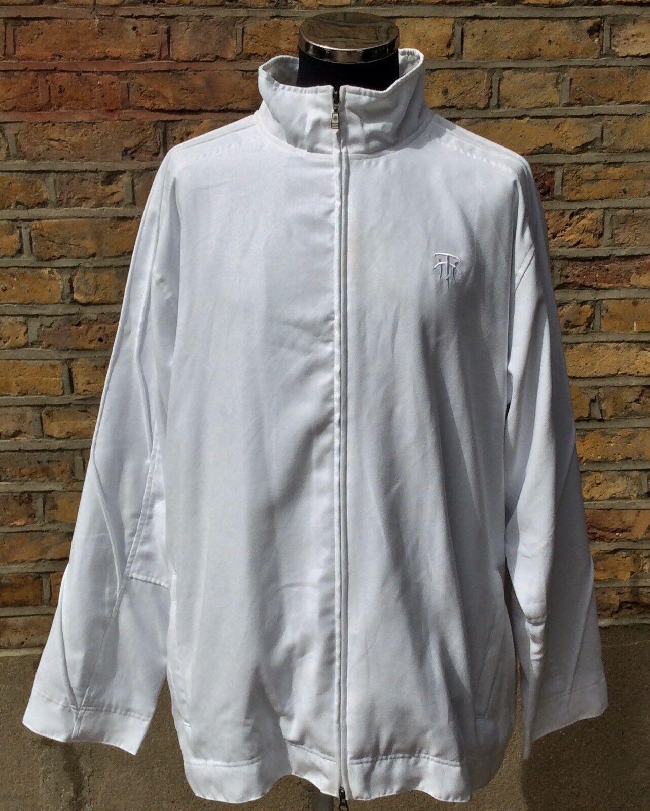 Adidas Tracy McGrady Raro T-Mac para  hombre blancoo Chaqueta de pista súperior Tamaño Extra Grande  Con 100% de calidad y servicio de% 100.