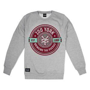 Zoo-York-Ruckus-Mens-Sweatshirt-Grey-Size-S-M-XL