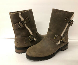 19b73f42e5d Details about UGG NIELS II WATER RESISTAN WOMEN BOOTS LEATHER DOVE US 11  /UK 9.5 / EU 42