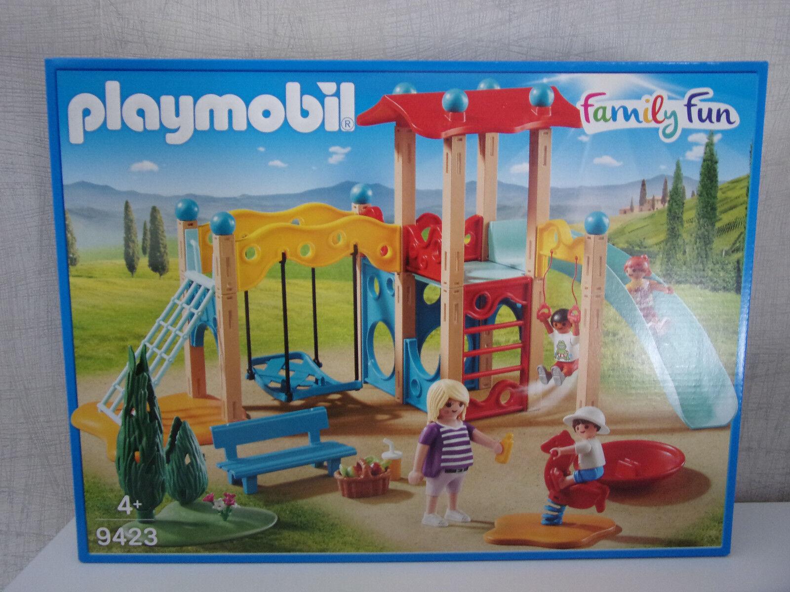 Playmobil Family Fun 9423 Großer Spielplatz - Neu & & & OVP 08ab1e
