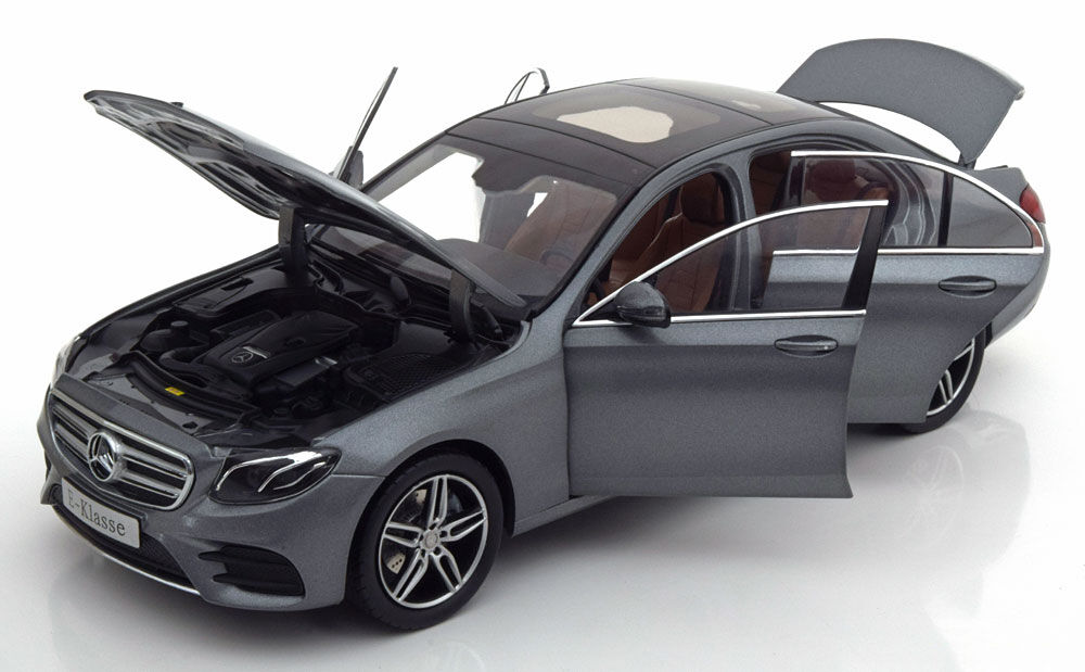 Iscale 2016 Mercedes Benz E Klasse W213 AMG Matt gris Dealer Ed 1 18 New Release