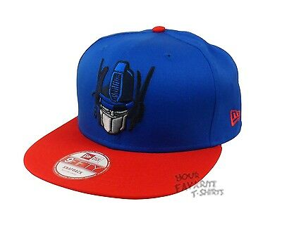 Transformers Optimus Prime Face Blue Red New Era Newera Licensed Baseball Hat