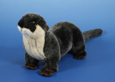 weicher 26cm Plüsch Otter Marder Stofftier Plüschtier Kuscheltier Wassermarder