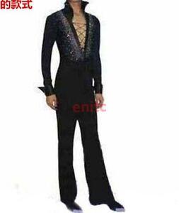 406facf85 Men's Dancewear Set Latin Ballroom Dance Costume Rhythm Salsa Shirt+ ...