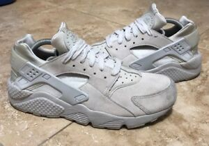 3beca899749af NIKE AIR HUARACHE RUN PRM PREMIUM NEUTRAL GREY SZ 10  704830-005