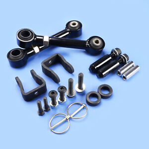 """Jeep Cherokee XJ Grand Cherokee ZJ Front Swaybar End Links for 0-3/"""" Lifts"""