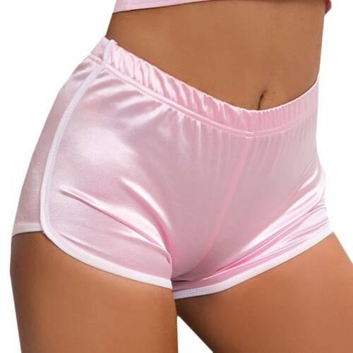 Women Ladies Gym Yoga Sports Shorts High Waist Fitness Running Workout Hot Pants