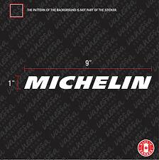 2X MICHELIN TIRE BRAND CAR sticker vinyl decal