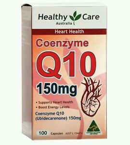 Healthy-Care-CoEnzyme-Q10-150mg-100-Capsules-OzHealthExperts
