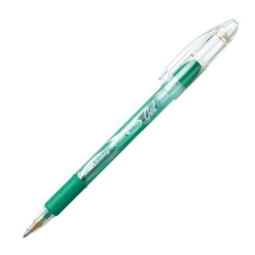 Pentel K908MD Pentel Sunburst Metallic Gel Ink Roller 12//pk Green