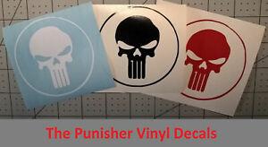 Punisher-Vinyl-Decal-Sticker-Car-Window-Wall-Bumper-Computer-PC-JDM-Applique