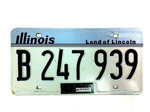1998 Illinois U.S.A. United States of America Original License Plate - #534