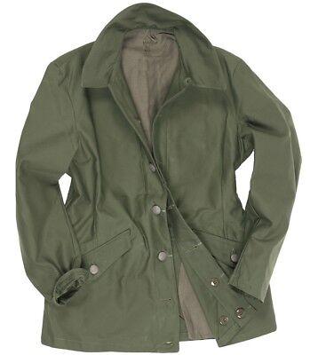Mens 100/% Genuine Military Swedish Army Combat Jacket BDU Coat Vintage Surplus