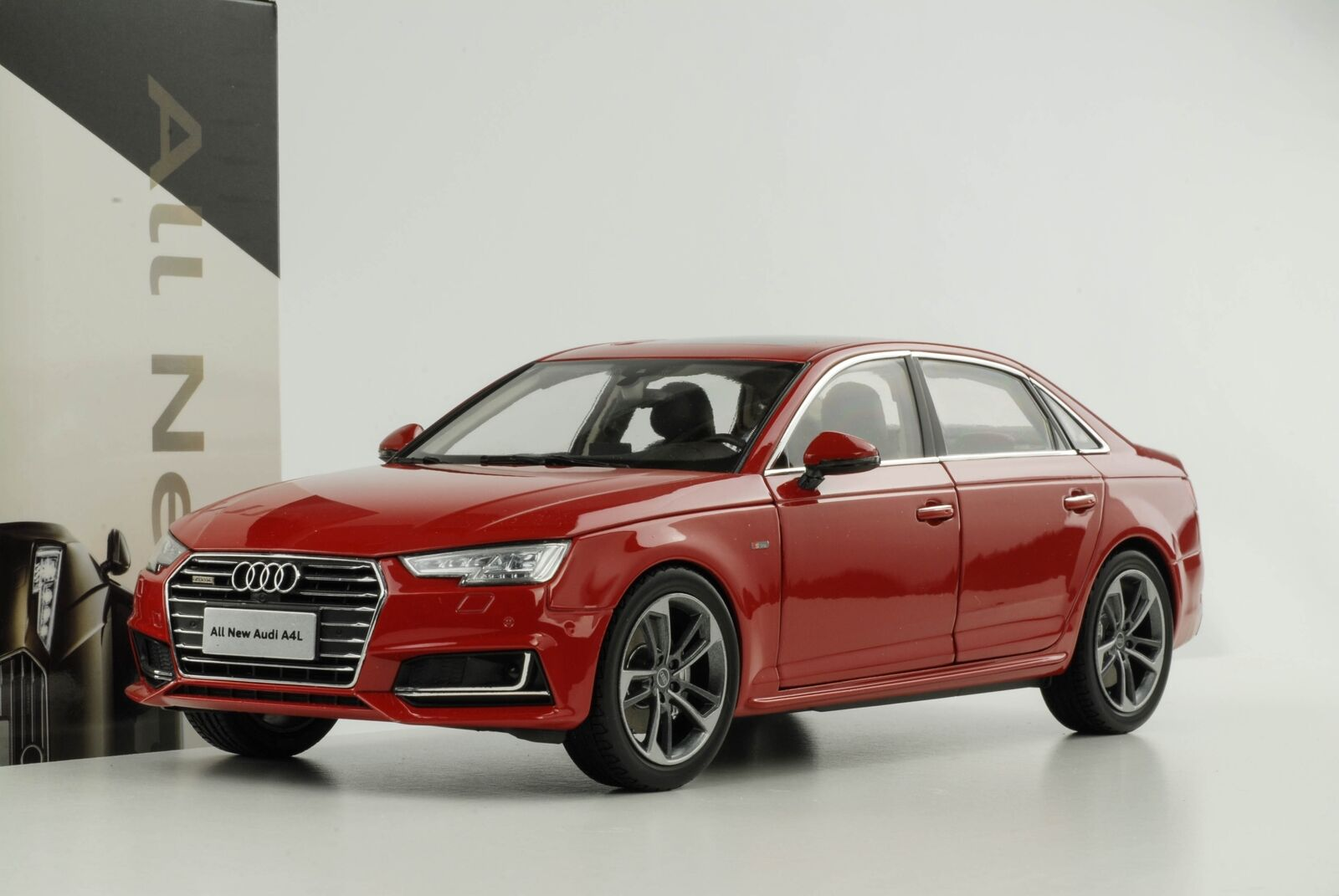 1 18 FAW AUDI 2017 a4 L quattro extended for Cina Rosso commercianti Edition