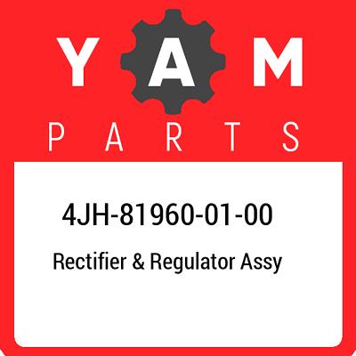 Yamaha 4JH819600100 Rectifier and Regulator
