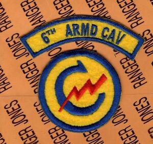 US-Army-6th-Armored-Cavalry-Regt-Constabulary-patch-tab-set