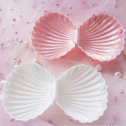 Shell Ring Necklace Earrings Jewelry Storage Organizer Box Case Charm Gift HI