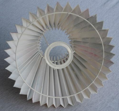 "E27//E14 Tisch-Lampenschirm Plissee *Deep Rose/""  im Landhausstil  25-9,5-16cm"