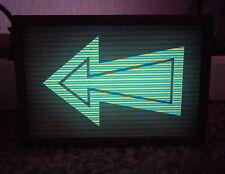 2pcs RARE Soviet Military Bi-Color Electroluminescent IEL Display Nixie TESTED