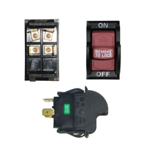 Safety Toggle ON//OFF Switch D4163 1343759 Locking Key Style