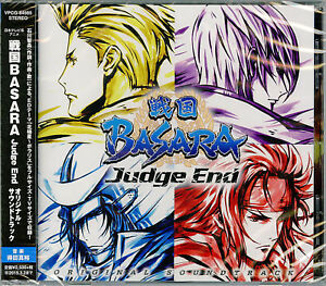 ANIMATION-SOUNDTRACK-MASAHIRO-TOKUDA-SENGOKU-BASARA-JUDGE-END-JAPAN-CD-F56