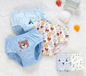 Kids Boy Cotton Underwear Pants Cartoon Car for Baby Children Boxer Underpants