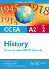 CCEA A2 History: Partition of Ireland 1900-25 Student Unit Guide: Unit 2, option 4 by Henry Jefferies (Paperback, 2011)