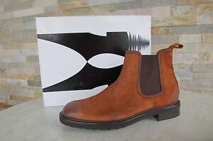 Bottes Castagna タ Moreschi 10 Bottes Chaussures Nouvelle 44 Uvp420 Antiques Forme Bottes QCxhdtsr
