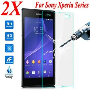 Tempered-Glass-Screen-Protector-For-Sony-Xperia-XZ-X-Compact-L1-L2-XA1-X-XZ1-Z5