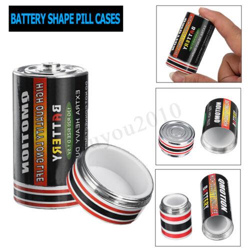 Batterie Form Privatsphäre Tresor Versteckdose Versteck Geheimfach Pillendose