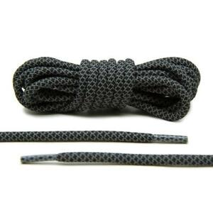 4ef4b29880741 Image is loading Lace-Lab-Black-3M-Reflective-Round-Rope-Laces-