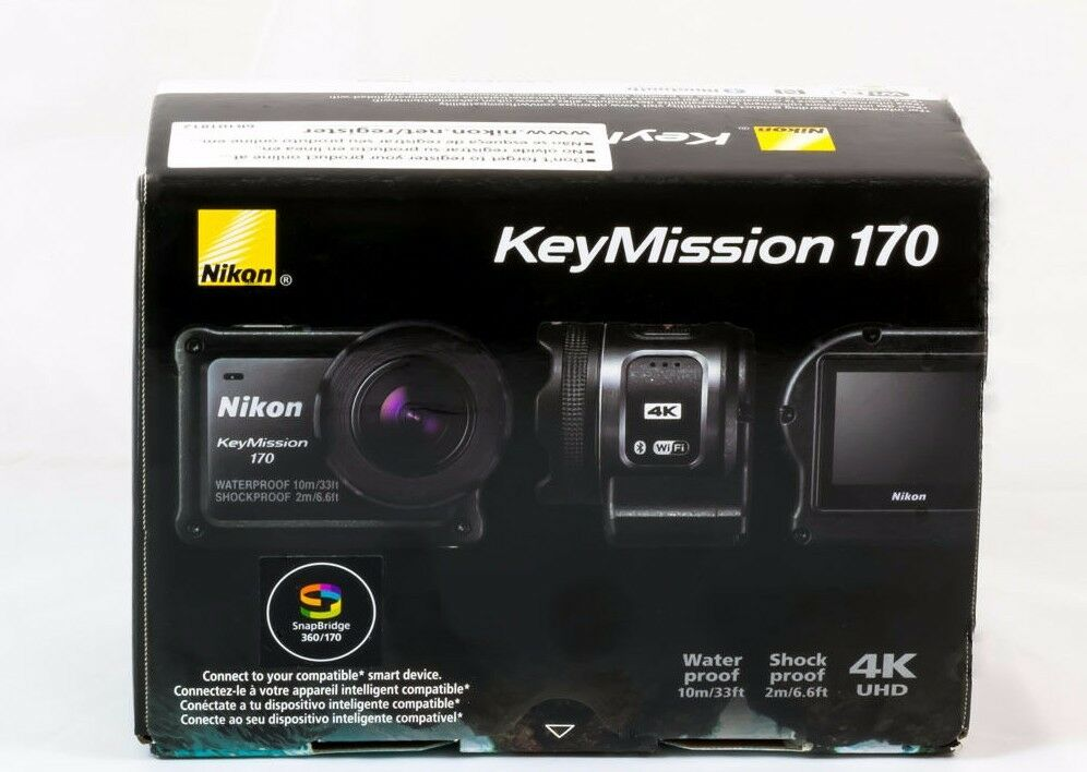 Nikon KeyMission 170 WaterProof ShockProof FreezeProof 4K Action Video Camera Featured