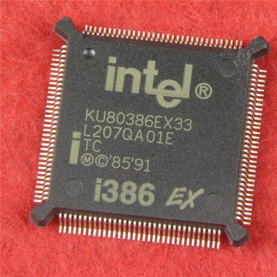 NEW 1PCS INTEL KU80386EX33 QFP132,16-BIT HIGH-INTEGRATION EMBEDDED PROCESSORS