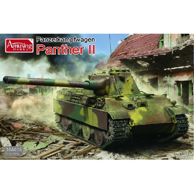 Amusing Hobby 35A018 WWII 1 35 Model Kit Tank - Panther II