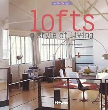 Lofts: A Style of Living (Archi Design) - Good - Piveteau, Elodie - Paperback