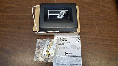 Linear Delta-3 Wireless Garage Door Remote Receiver 24V 1-Channel DR