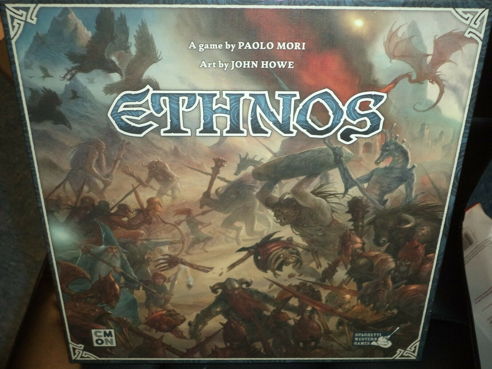 Ethnos - CMON Cool Mini or Not Games Board Game New