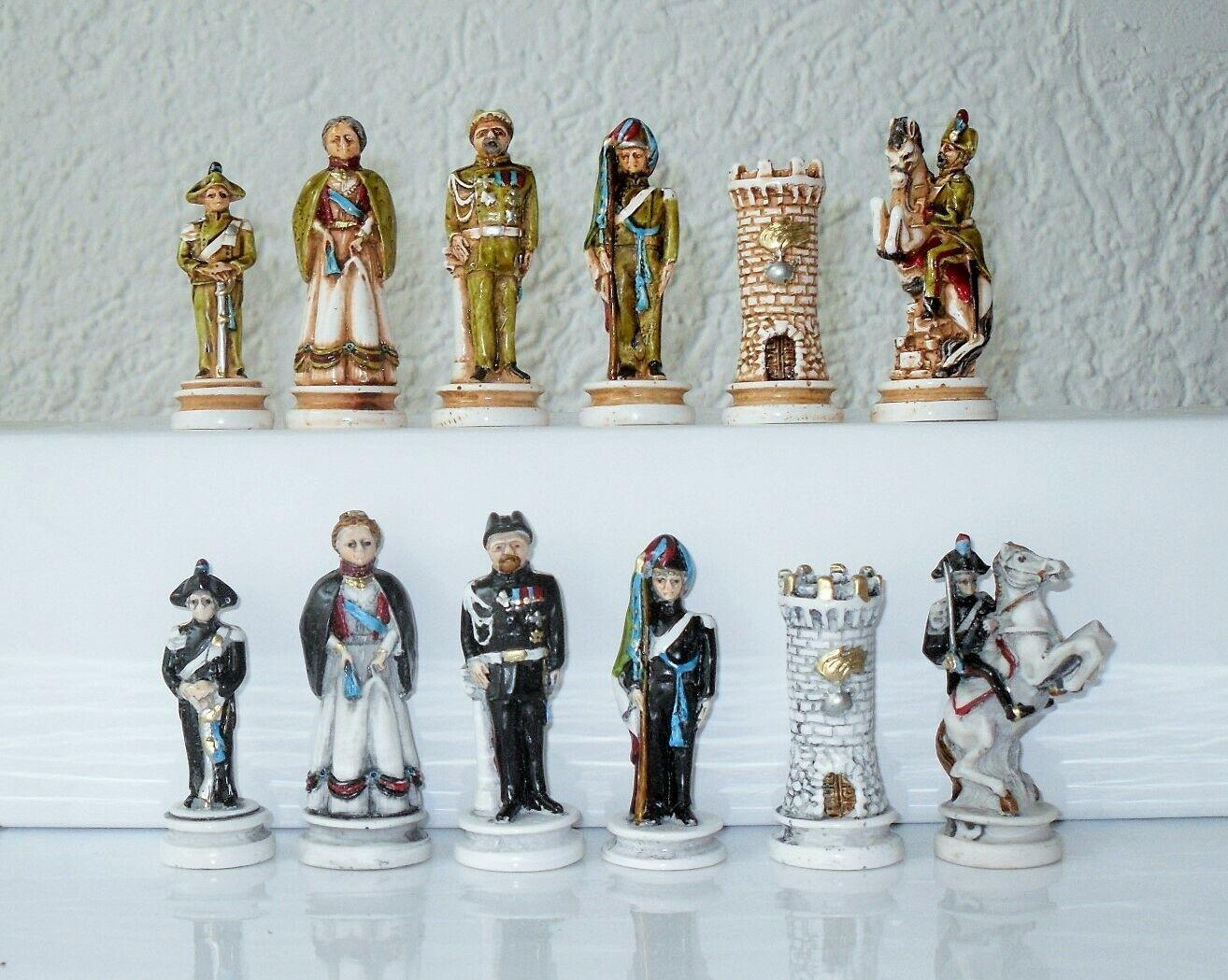 Piezas de ajedrez ajedrez Risorgimento