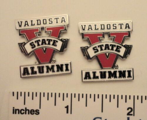 2 Valdosta GA VSU Valdosta State University Alumni Lapel Pins