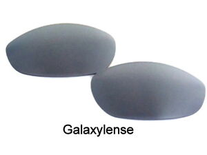 c27a581fc3 Details about Galaxy Replacement Lenses For-Oakley Monster Dog Sunglasses  Ash Gray 100%UVAB