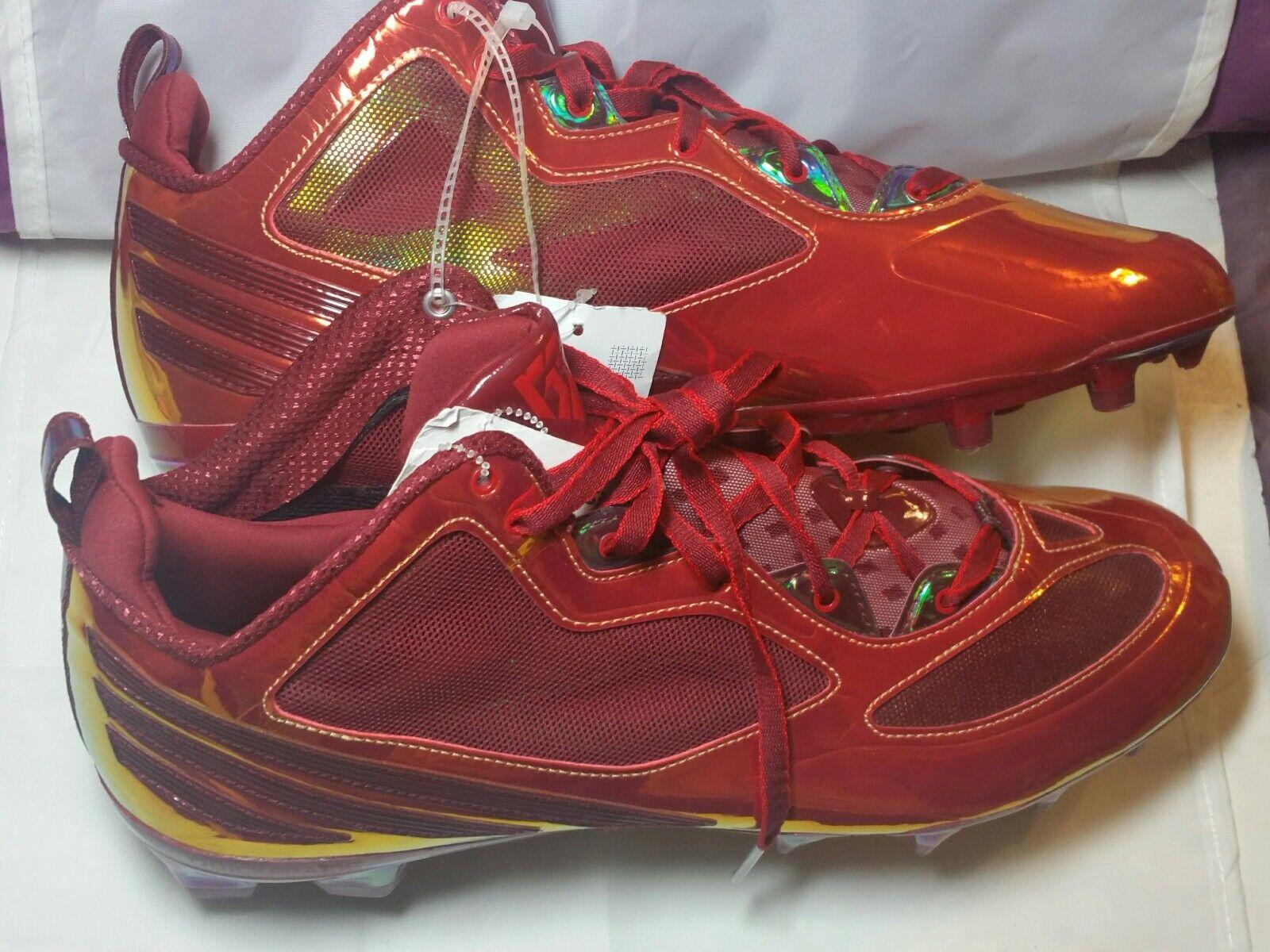 Ανδρικά ΞœΞΞ³Ξ΅ΞΈΞΏΟ' 15 Adidas RGlll Μίνι ποδοσφαίρου Cleats Cardinal Κόκκινο C76498 ΛιανικΞ� $ 150