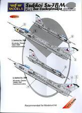 LF Models Decals 1/72 SUKHOI Su-7 BM OVER CZECHOSLOVAKIA Part 1