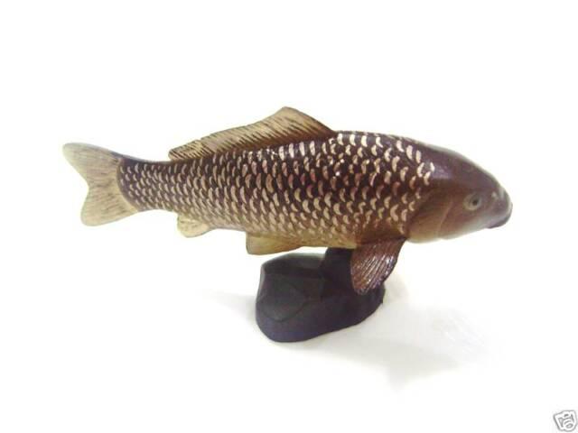 RARE Kaiyodo ChocoQ Animatales Series 8 Black Carp Fish Figure