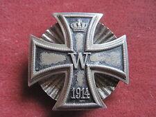Original Preussen Eisernes Kreuz 1.Klasse 1914 an Schraubscheibe  sehr selten!