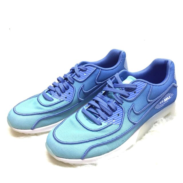 329a4b1e7f Nike Air Women's Max 90 Ultra 2.0 Breathe (Size 10) Blue / White 917523