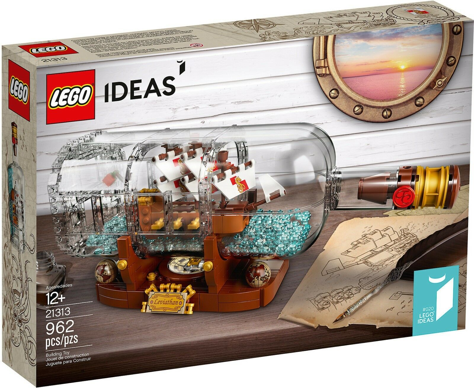 LEGO Ideas 21313 - Nave In Bottiglia NUOVO RARO RARO RARO 356d90