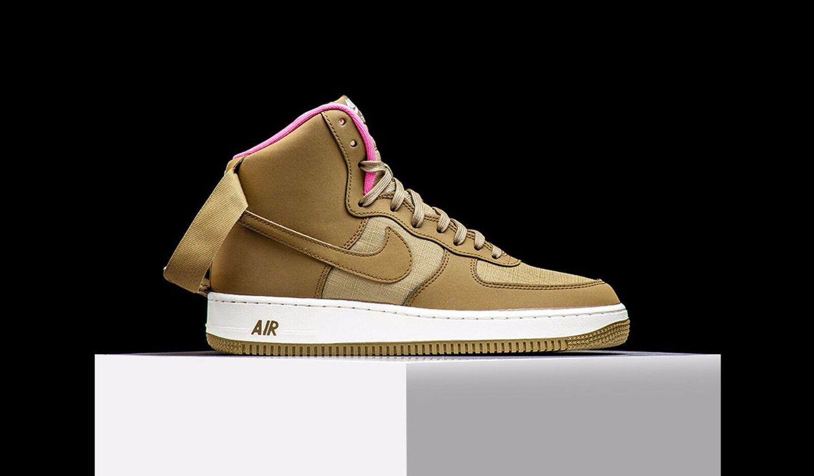 Nike Air Force 1 HIGH  goldEN pink  Mens  Sz 8.5 315121-204