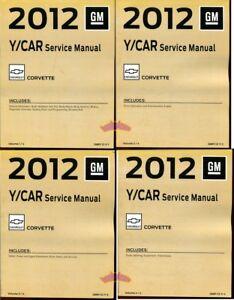 SHOP MANUAL CORVETTE SERVICE REPAIR    2012    BOOK    HAYNES